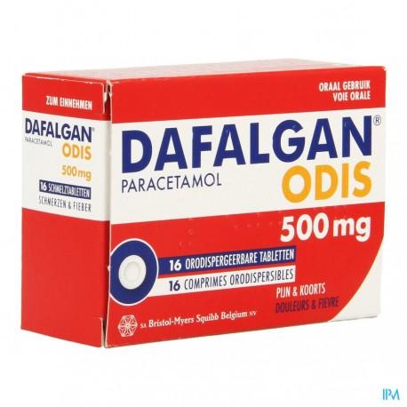 Dafalgan Odis 500mg 16 comprimés orodispersibles
