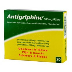Antigriphine500mg 20 comp