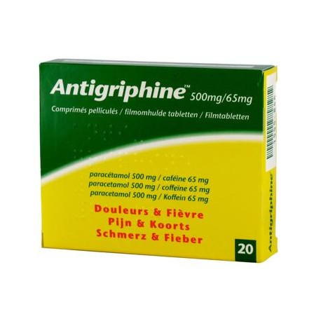 Antigriphine500mg 20 comp