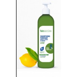 Biosecure shampooing purifiant cheveux gras 400ml