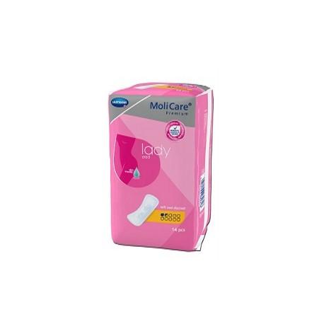 Molicare premium lady pad 1.5gouttes 14 pads