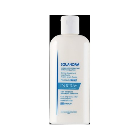 Ducray Squanorm Shampooing antipelliculaire 200ml