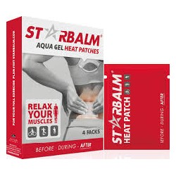 Starbalm aqua gel heat patches