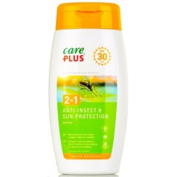 Care plus anti insect et sun protection 2en1 indice 30 150ml