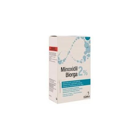 Minoxidil Biorga 2% 3x60ml