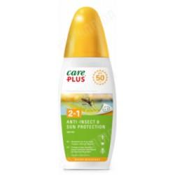 Care plus anti insect et sun protection 2en indice50 150ml