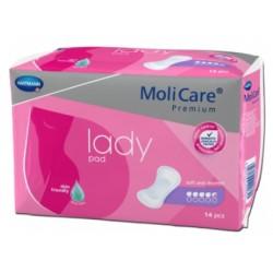 Molicare lady pad 14pcs 4.5gtts