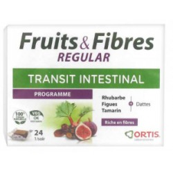 Fruit et fibre regular 24 cubes