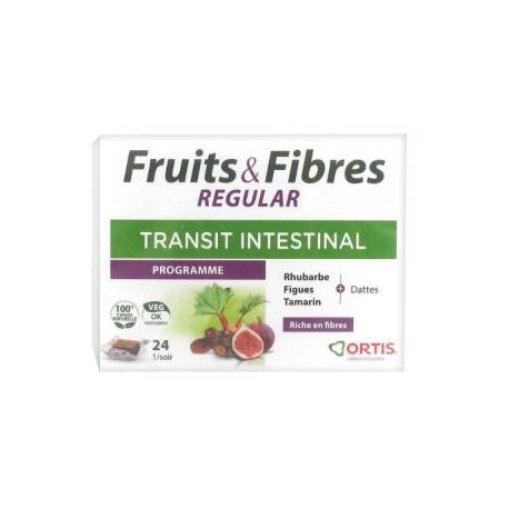 Fruit et fibre regular 24 cubes