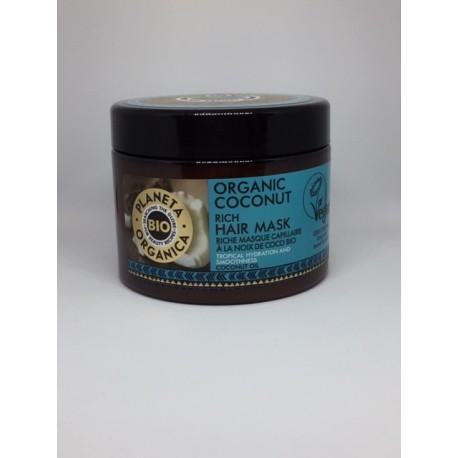 Planeta Organica organic coconut rich hair mask 300ml