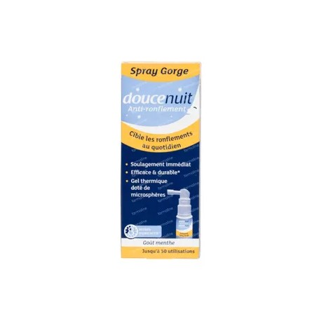 Douce nuit anti ronflement spray gorge 22ml