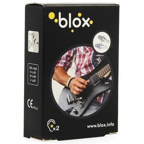 BLOX bouchon oreille music 2pc + cordelette