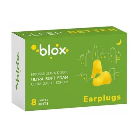 BLOX bouchon oreille mousse conique 8pc