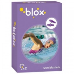 BLOX bouchon oreille aqua 2pc