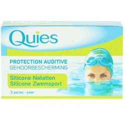 Quies protection auditive natation silicone adulte