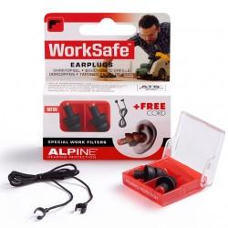 Alpine bouchons oreilles Worksafe 1 paire