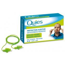 Quies protection auditive avec cordelette 1paire