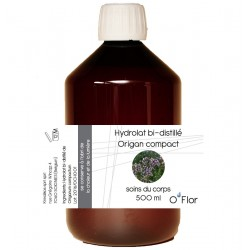 Krealikos hydrolat bi-distillé d'origan compact 500ml