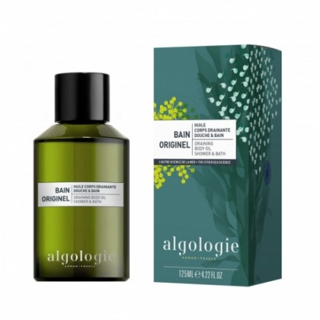 Algologie Bain Originel huile de douche et bain drainant 125 ml