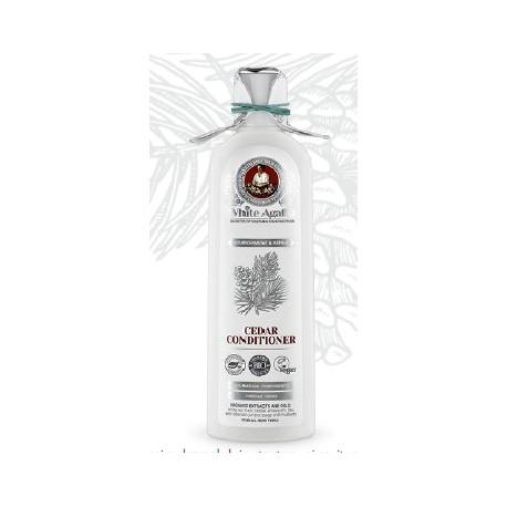 White Agafia après-shampoing au cèdre 280ml
