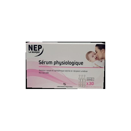 Nep sezrum physiologique 30x5ml