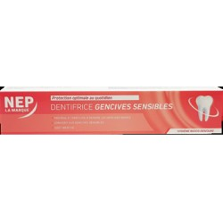 Nep dentifrice gencives sensibles 75ml