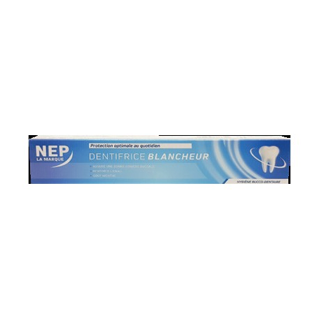 Nep dentifrice blancheur75ml