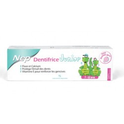 Nep dentifrice junior 7-12ans 50ml